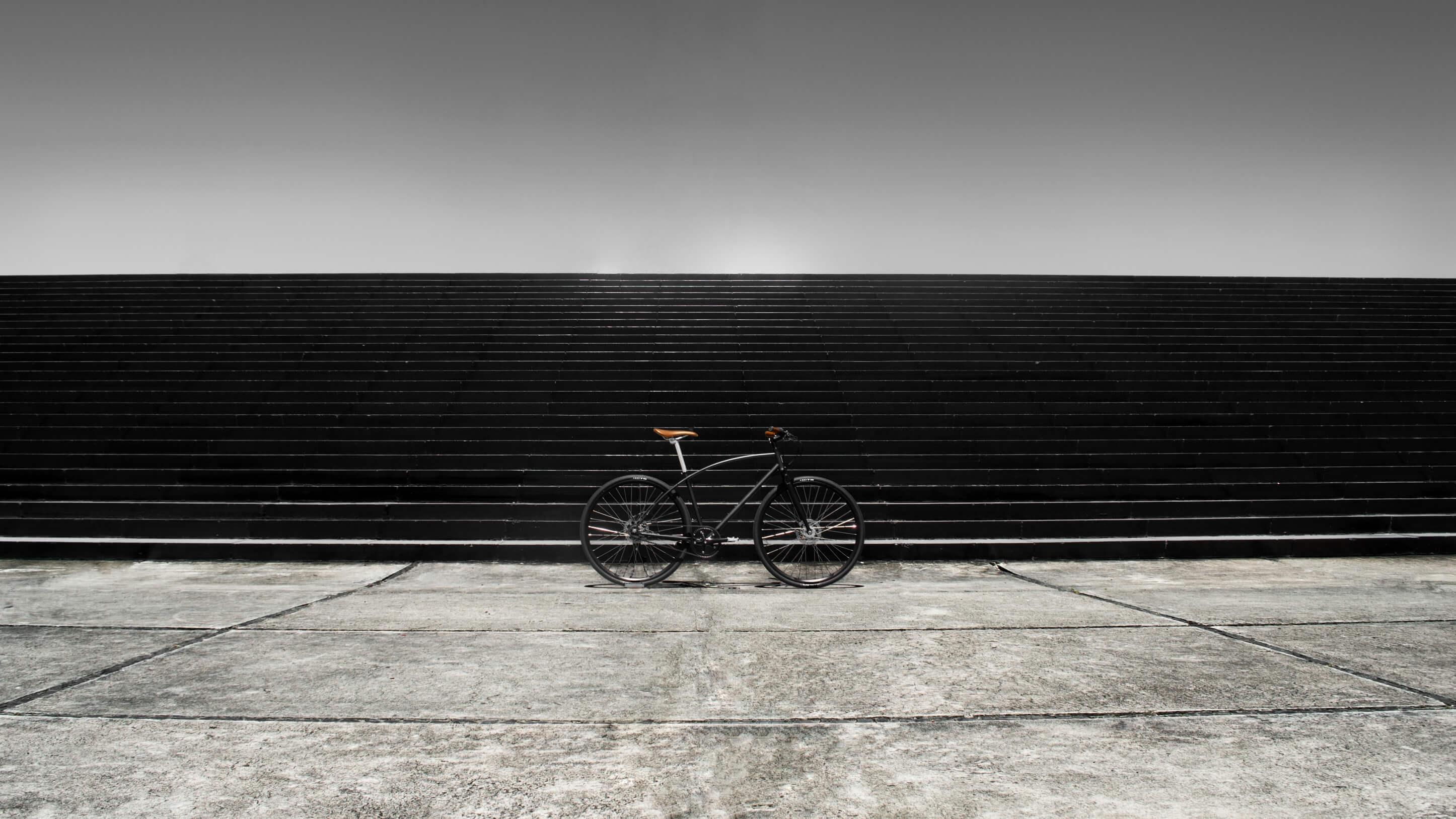 bicicleta urbana confortavel
