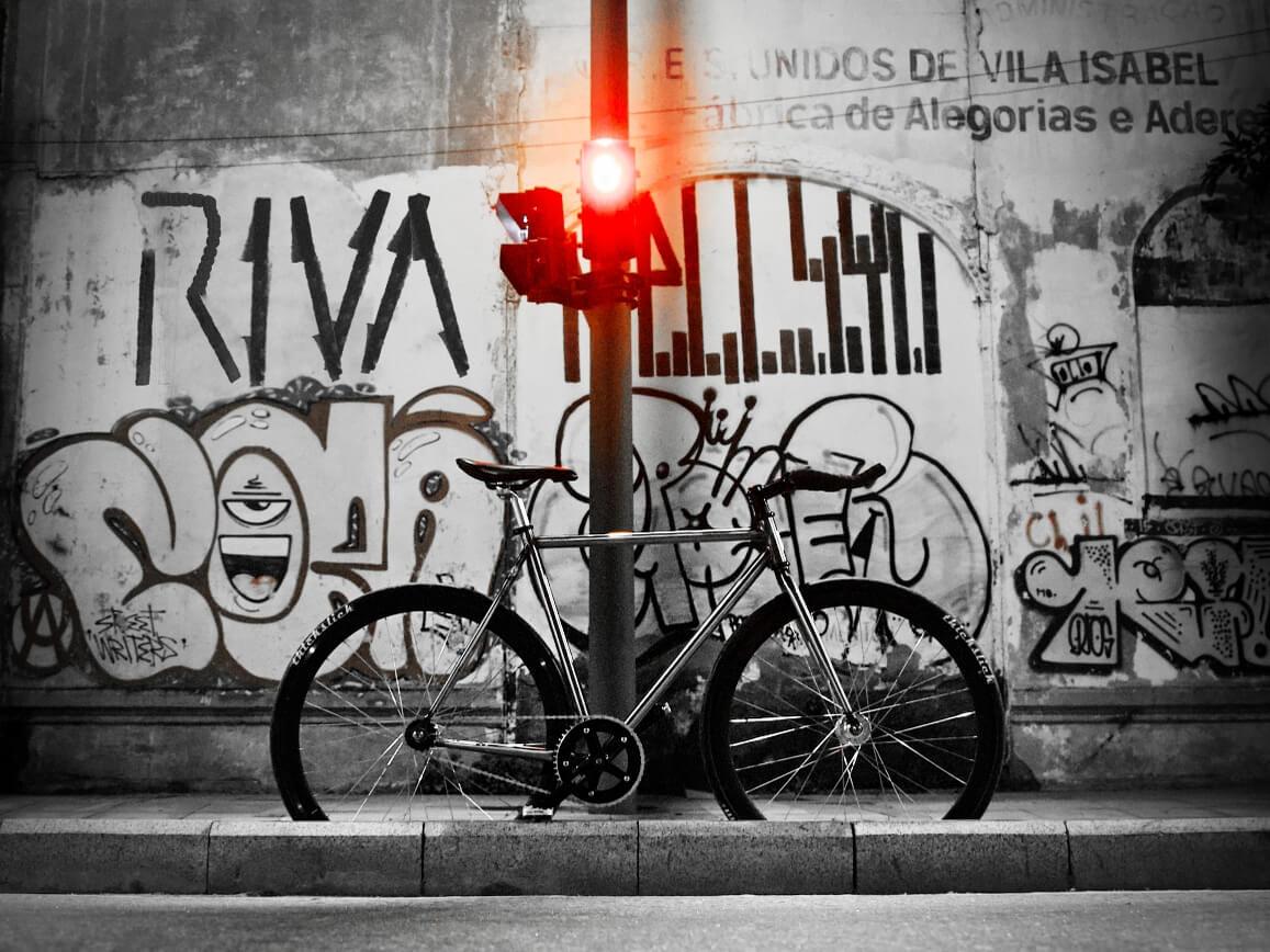 fixed gear urban art